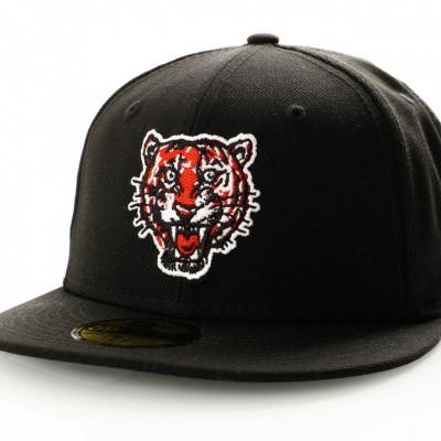 Afbeelding van New Era Coops Wool 11941703 Fitted Cap Navy Detroit Tigers