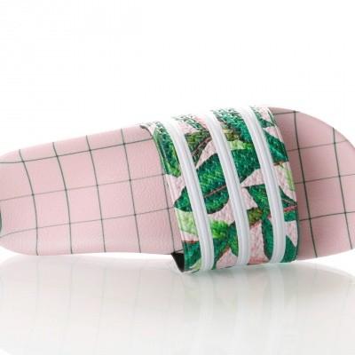 Afbeelding van Adidas Adilette W B28006 Slippers SUPPLICOL/FTWRWHITE/WONDERPNK