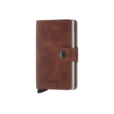 Afbeelding van Secrid MV-BROWN Wallet Miniwallet vintage Brown