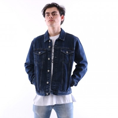 Solid 6189228-9010 Jacket Cool Blauw