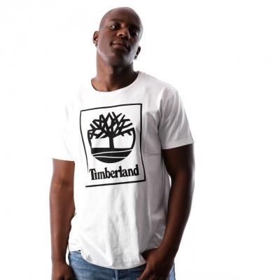 Timberland SLS SS Seasonal logo tee TB0A1N8Y1001 T shirt White