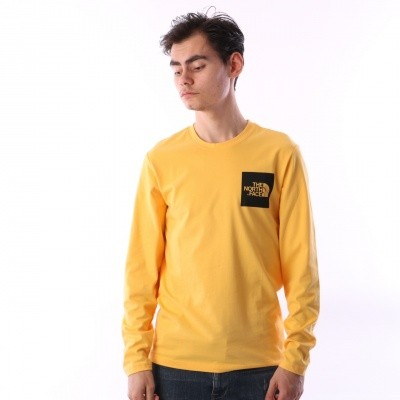 The North Face T937FT-70M Longsleeve Fine Geel