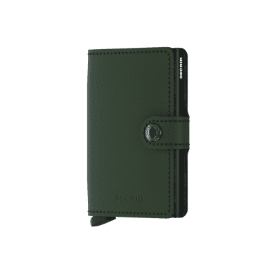 Afbeelding van Secrid MM-Green-Black Wallet Miniwallet matte Green-Black