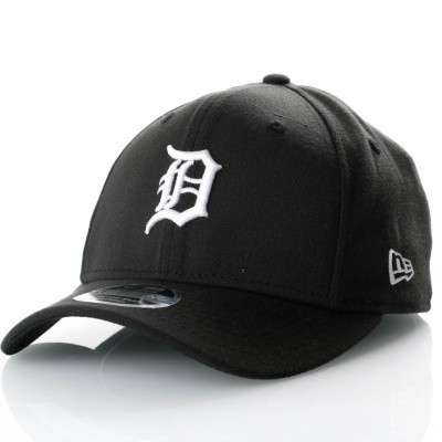 Afbeelding van New Era Stretch Snap 9Fifty 11871282 Snapback Cap Black/Offical Team Colour Mlb Detroit Tigers