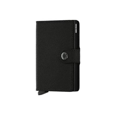 Afbeelding van Secrid MC-Black Wallet Miniwallet crisple Black