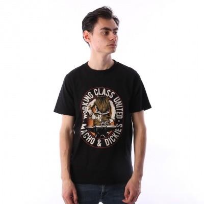 Afbeelding van Dickies 06 210587-BK T-shirt Old ocean Zwart