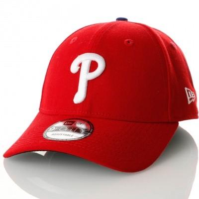 Afbeelding van New Era Mlb The League Philadelphia Phillies 10047542 Dad Cap Official Team Colour Mlb