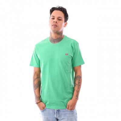 Afbeelding van Levi`S Ss Original Hm Tee 56605-0012 T Shirt Tri-Blend + Patch Jellybean