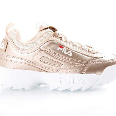 Afbeelding van Fila Disruptor MM low wmn 1010442 Sneakers gold