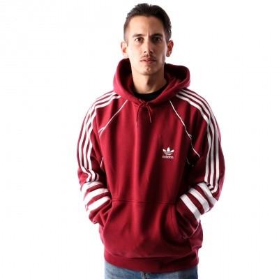 Adidas AUTH HODDY DJ2859 hoodie NOBLE MAROON