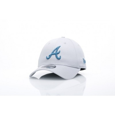 New Era 80524683 Dad cap MLB league essential 940 Atlanta Braves Grijs
