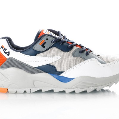 Afbeelding van Fila Vault Cmr Jogger Cb Low 1010588 Sneakers Gray Violet / Orange