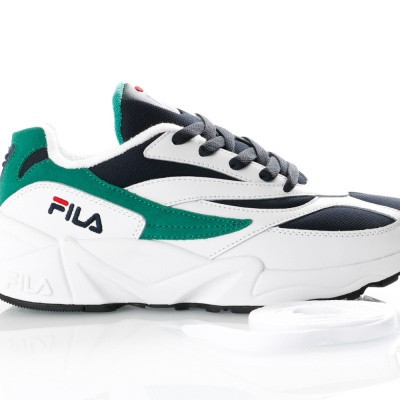 Afbeelding van Fila V94M low wmn 1010291 Sneakers white/fila navy/shady glade