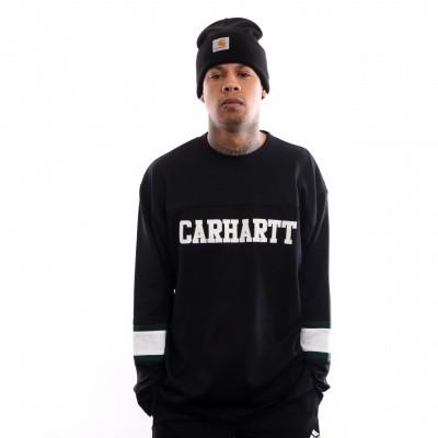 Afbeelding van Carhartt WIP L/S Thorpe College T-Shirt I026412 Longsleeve Black