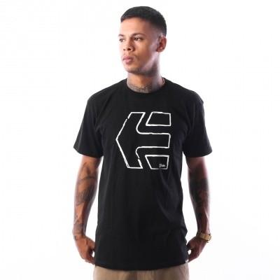 Etnies SKETCH OUTLINE S/S TEE 4130002263 T shirt BLACK 15