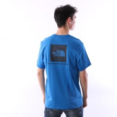 The North Face T92TX2-F89 T-shirt Redbox Blauw