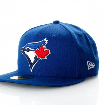 Afbeelding van New Era Ac Perf 59Fifty 70331941 Fitted Cap Offical Team Colour Mlb Toronto Blue Jays