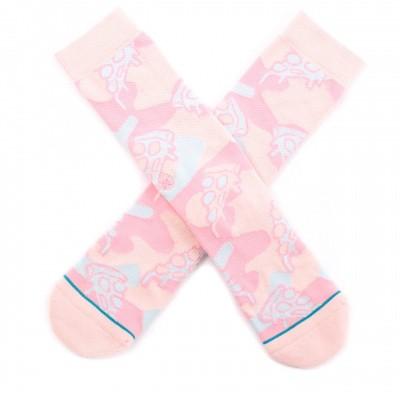 Afbeelding van Stance Pizza Party M556A19PIZ sokken Pink
