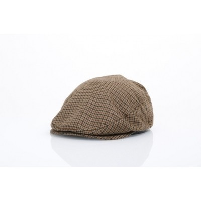Brixton 00005-DKKHK Flat cap Hooligan Bruin