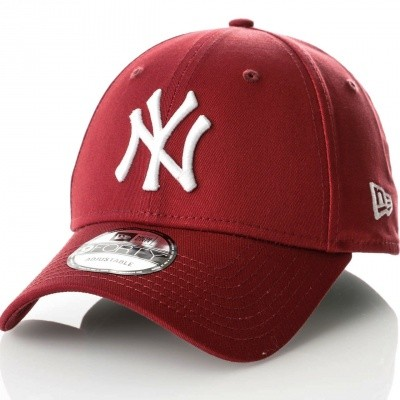 Afbeelding van New Era League essential 940 80636012 dad cap Cardinal New York Yankees