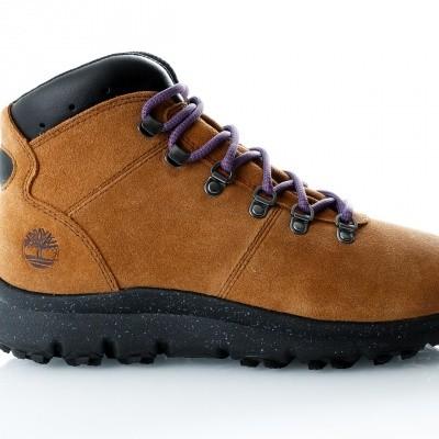 Afbeelding van Timberland World Hiker Mid TB0A1QJCD511 Sneakers TRAPPER TAN