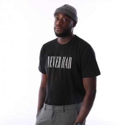 Aristoteles Never Had T-shirt NHT01 Black / White