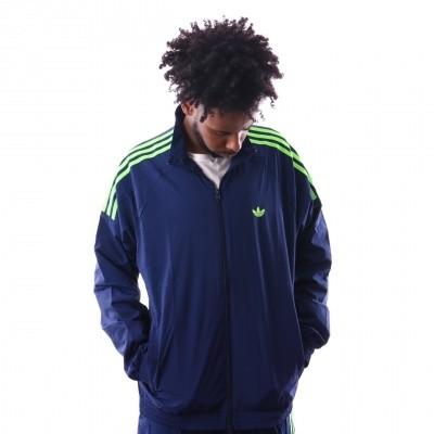 Afbeelding van Adidas Flamestrk Wv Tt Du7338 Trainingsjas Dark Blue