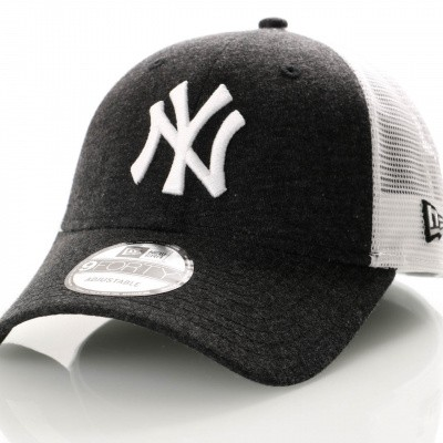 Afbeelding van New Era Summer League 9Forty 11945624 Trucker Cap Black/Optic White New York Yankees