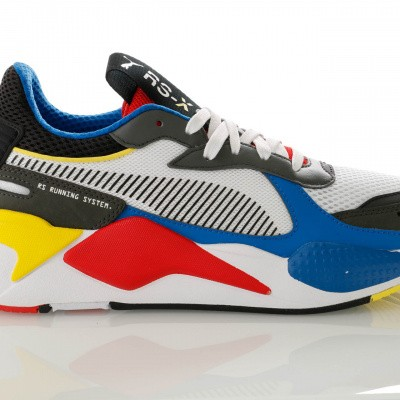 Afbeelding van Puma RS-X TOYS 369449 Sneakers Puma White-Puma Royal-High Risk Red