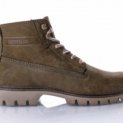Afbeelding van Caterpillar Basis Nubuck P722709 Sneakers Green