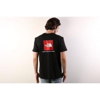 Afbeelding van The North Face T92TX2-JK3 T-shirt Redbox Zwart