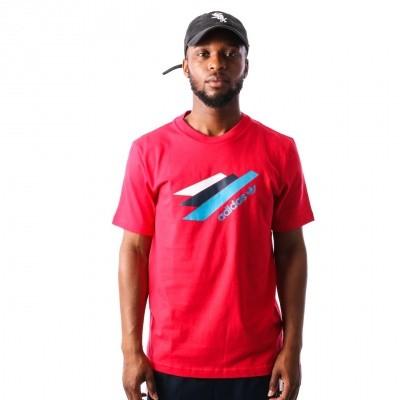 Adidas Palmeston Tee DJ3453 t-shirt BOLDRED/BOLDRED