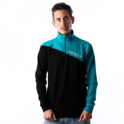 Instinct One City Zipper IO-18001 Black / Turquoise