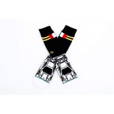 Stance M545A17TYS-BLK Socks Tyson Zwart