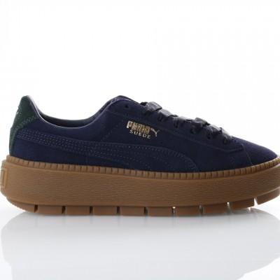 Afbeelding van Puma Ladies 367066-01 Sneakers Platform tracebold Blauw