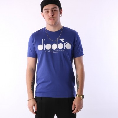 Diadora 502.161.924-60047 T-shirt Sl bl Blauw