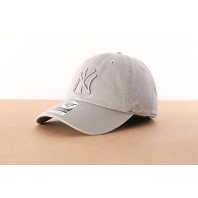 47 Brand B-RGW17GWSNL-GYC Dad cap Clean up NY Yankees Grijs