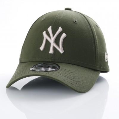 Afbeelding van New Era 11507691 Dad Cap League Essential 940 Ny Yankees Groen