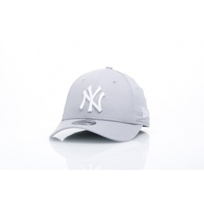 Afbeelding van New Era Kids 10879075 Dad Cap 940 Mlb League Basic Ny Yankees Grey
