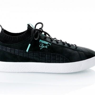 Afbeelding van Puma Clyde Sock Lo DIAMOND 365653 sneakers puma black-puma black