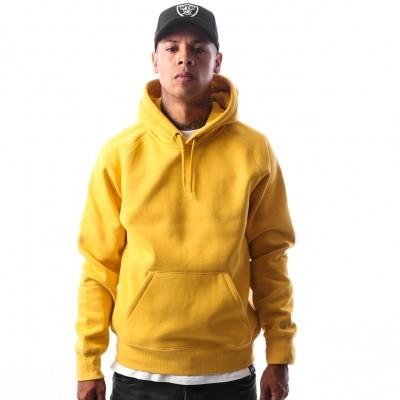 Afbeelding van Carhartt WIP Hooded Chase Sweatshirt I024653 Hooded Quince / Gold