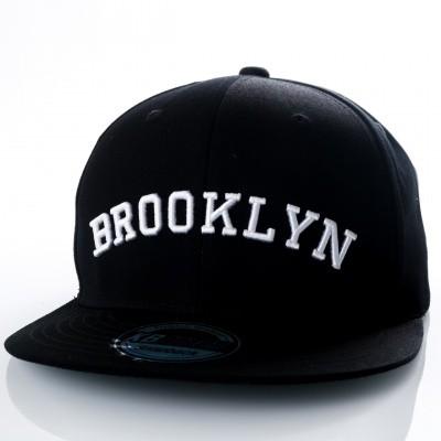 Afbeelding van Ethos Brooklyn KBN-500BN black/black/white KBN-500BN dad cap black/black/white