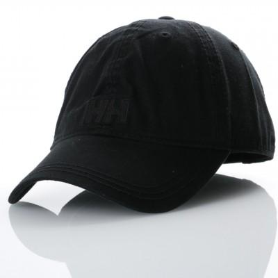 Afbeelding van Helly Hansen 38791-990 Dad cap Logo cap Zwart