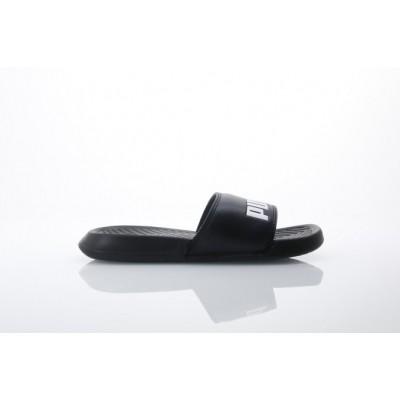 Afbeelding van Puma 360265-10 Slide sandal Popcat Zwart