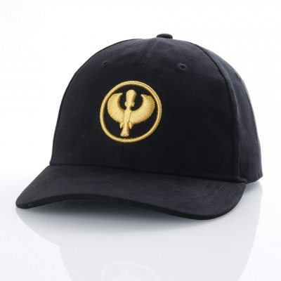 Pharaoh Official Dad cap Suede Goud
