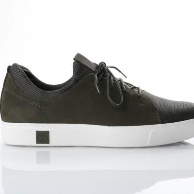Timberland CA1OGK Sneakers Amherst lthr ltt Grape leaf/duck brown