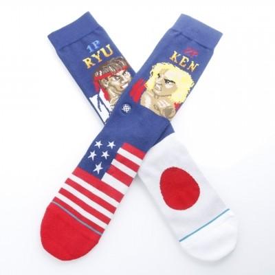 Afbeelding van Stance M545A18RYU Socks Ryu vs ken Blauw