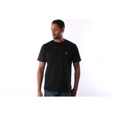 Carhartt WIP I021949-8990 T-shirt Chase Black/gold