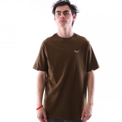 Reell 1301-009/03-006-160 T-shirt Small script Groen