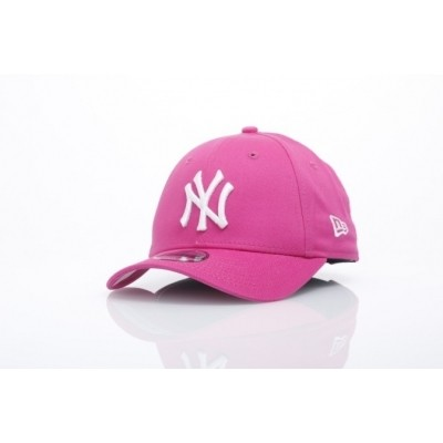 Afbeelding van New Era Kids 10877284 Dad Cap 940 Mlb League Basic Ny Yankees Roze